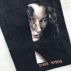 Vtg '96 Tori Amos Concert Tour Black Tee